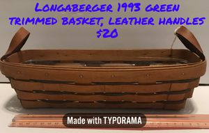 Longaberger baskets.... retired and some hard to find for Sale in Evansville, IN