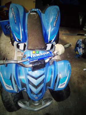 Yamaha Raptor Power Wheels needs charger for Sale in Evansville, IN