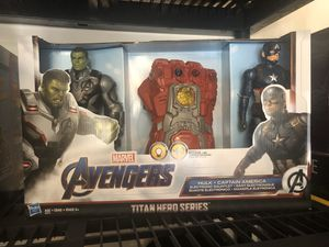Captain America and hulk marvel set for Sale in Sunrise, FL