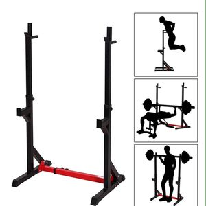 Zoozier adjustable squat stand dipping station-weight bench and barbell rack for Sale in Downey, CA