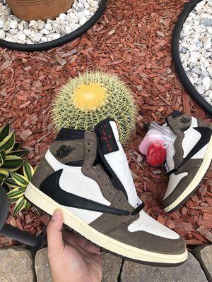 JORDAN 1 Travis Scott Sz. 11 SNKRS APP with proof of purchase!!! for Sale in Cerritos, CA