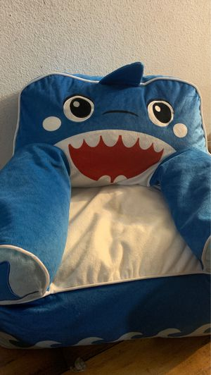 Baby shark bean bag chair for toddlers/kids for Sale in Los Angeles, CA