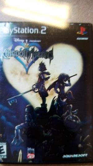 Original Kingdom Hearts Ps2 Game for Sale in Knightdale, NC