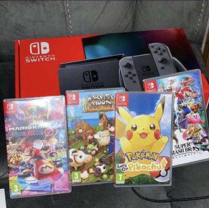 Nintendo switch bundle for Sale in Beltsville, MD
