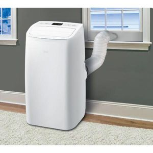 8,000 BTU (5,500 BTU,DOE), 115-Volt Portable AC w/ Dehumidifier Function and LCD Remote in White for Sale in Arcadia, CA