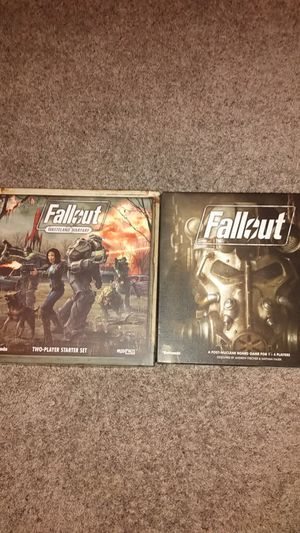 Fallout table top board games for Sale in Maricopa, AZ