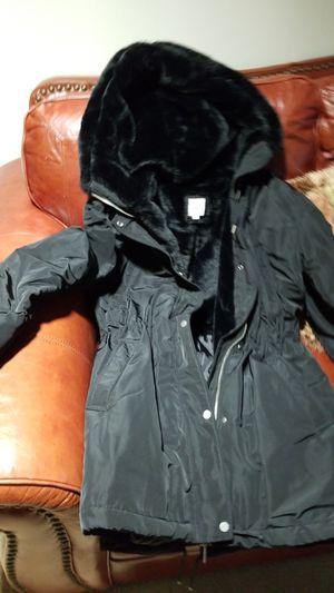 3/4 BLACK PARKA JACKET for Sale in Philadelphia, PA