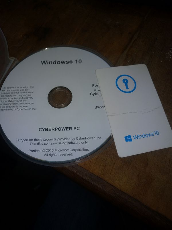 Windows 10 home 64-bit