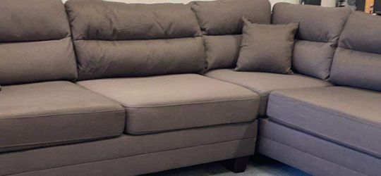 New Brown Sectional Couch Only $50 Down Payment for Sale in Palos Verdes Peninsula,  CA
