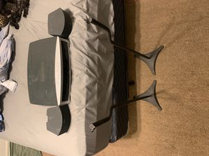 Bose 321 series ii media center with 2 speakers and stands for Sale in San Marcos, CA