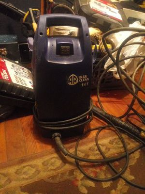 Blue clean pressure washer for Sale in Cleveland, OH