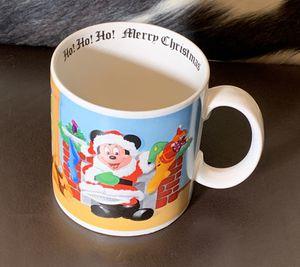 Vintage Disney Mickey Mouse Christmas Mug for Sale in Douglasville, GA