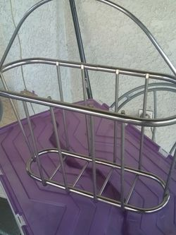 Solid Metal Chrome Magazine Rack for Sale in Downey,  CA