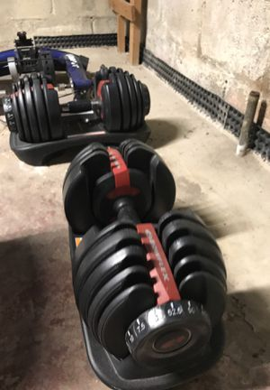 Bowflex adjustable weights for Sale in Linthicum Heights, MD