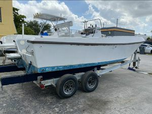 2001 Continental Trailer 25 Ft plus Free Boat, AquaSport 2100 for Sale in Hollywood, FL