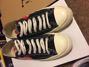 CDG Converse size 9.5 for Sale in San Francisco, CA