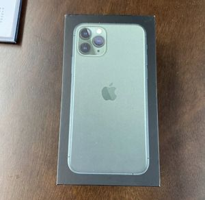 Iphone 11 pro 512 gb carrier unlocked and icloud unlocked for Sale in Providence, RI