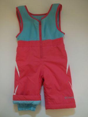 NWOT Columbia Bibs Snow Ski Pants Fleece Upper BUGA OMNI TECH Girl 12M for Sale in Tacoma, WA
