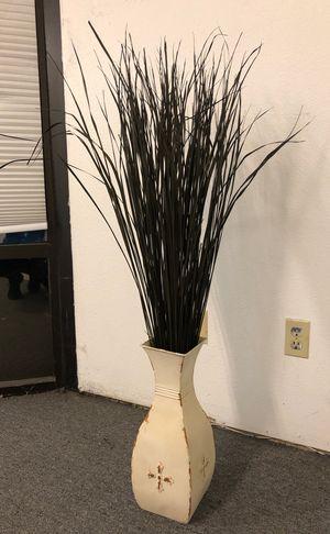 Fake Plant in Metal Vase for Sale in Auburn, WA