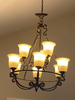 9 light hanging chandelier. for Sale in Burien, WA