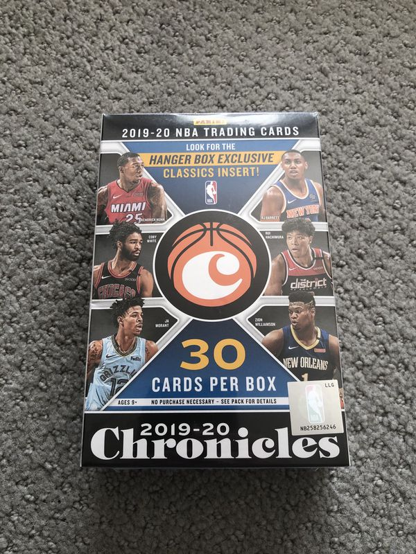 Chronicles Basketball Hanger Box 2019-2020