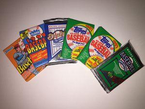 6 packs of old baseball cards for Sale in Alexandria, VA