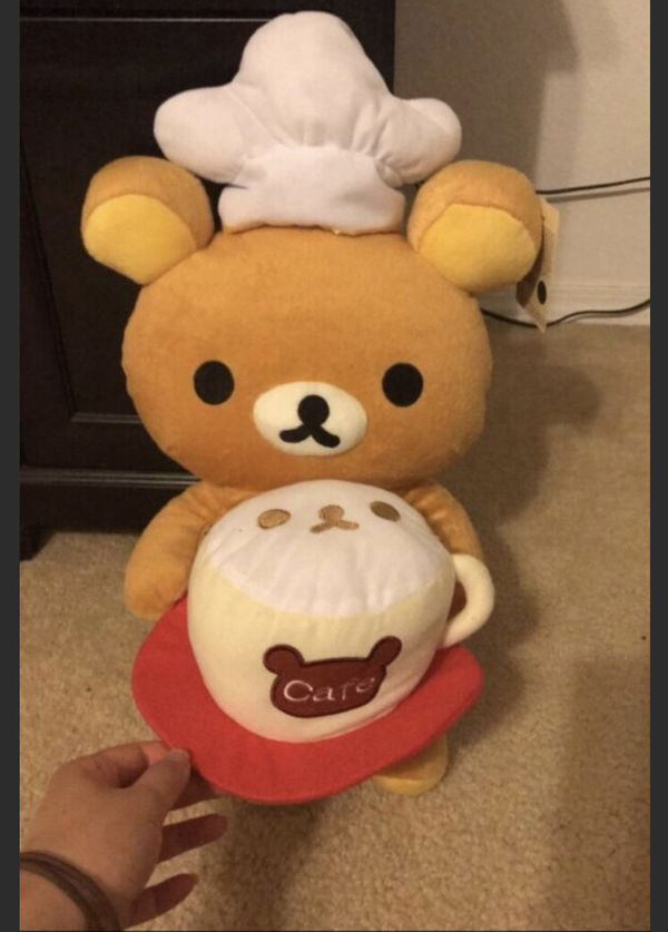 Barista Bear Plush