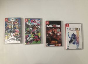 Nintendo Switch games (Price varies) for Sale in San Leandro, CA