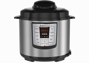 Instant Pot LUX60 V3 6 Quart 6-in-1 Multi-Use Programmable Pressure Cooker is a multi-functional stainless-steel cooker that can speed up your cookin for Sale in Miami, FL