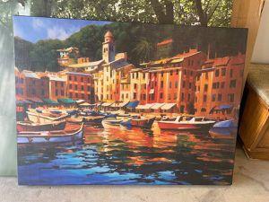Canvas Print of Portofino for Sale in Carlsbad, CA