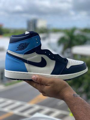Air Jordan 1 Retro High OG OBSIDIAN/UNIVERSITY BLUE SIZE 11 for Sale in Miami, FL