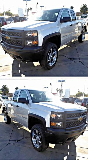 2014 Chevrolet Silverado 1500 Work Truck 1WT Double Cab 4WD for Sale in South Gate, CA