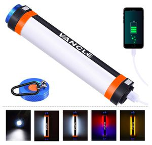 Brand New Seal In Box (9.8 inch Tall) 400 Lumen LED Camping Lamp, Multi-functional Ultra Bright Flashlights Rechargeable 7800mAh Power Bank Flashligh for Sale in Hayward, CA