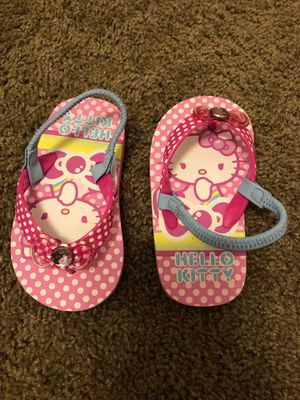 New- Hello Kitty Sandals. M 7-8 for Sale in San Antonio, TX