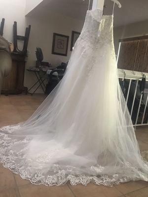 Wedding dress for sale for Sale in St. Petersburg, FL