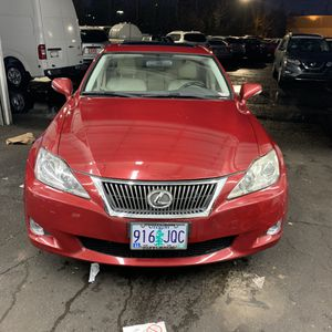 09 Lexus is250 awd for Sale in Beaverton, OR