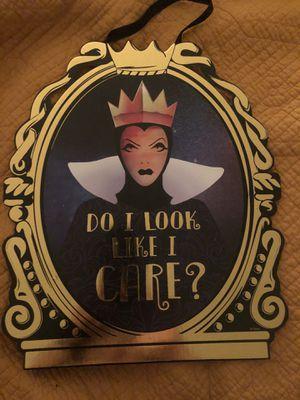 Disney Snow White evil queen decor for Sale in Fullerton, CA