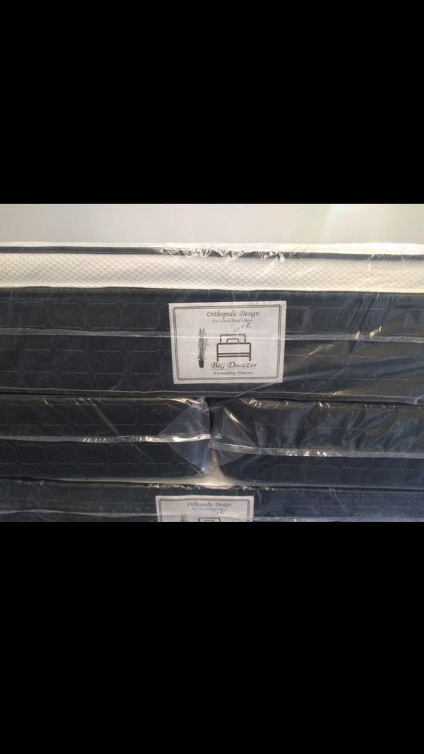 """New 12"""" King pillow top mattress and box springs FREE DELIVERY"""