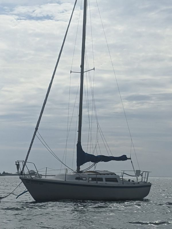 27' Catalina tall rig