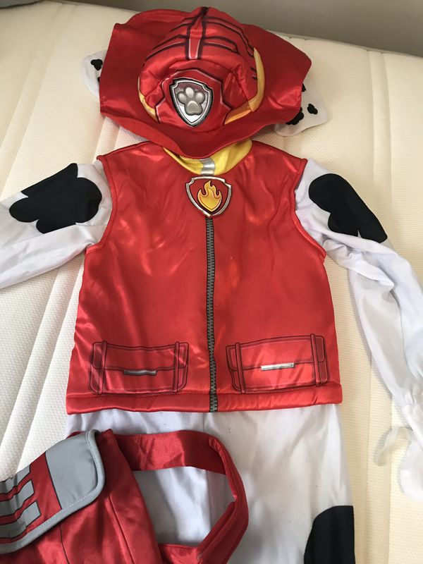Childs Paw Patrol Marshal Costume $10