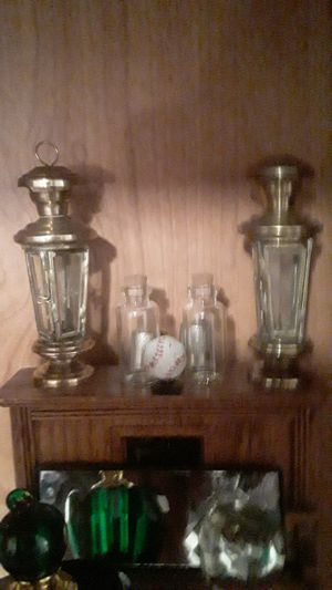 Brass miniature lanterns for Sale in Arvada, CO