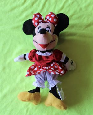 Minnie Mouse Plush Doll Vintage Disneyland Walt Disney World Parks Tags Mickey for Sale in Cupertino, CA