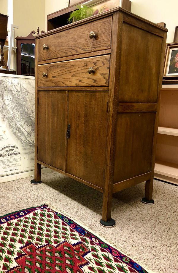 2available $249each Mission Style Table Stand Tables Dresser Cabinet Credenza Stand Table Chair Sofa Rug Painting