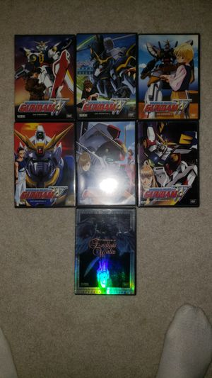 DVD - Gundam Wing: Operation 1 thru Operation 6 and Gundam Wing Movie: Endless Waltz for Sale in Thornton, CO
