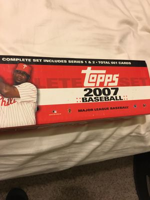 Topps 2007 Baseball Cards ( complete set) for Sale in Pflugerville, TX