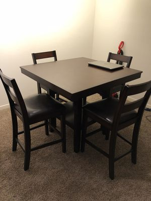 Kitchen Table with 4 Chairs for Sale in Raleigh, NC