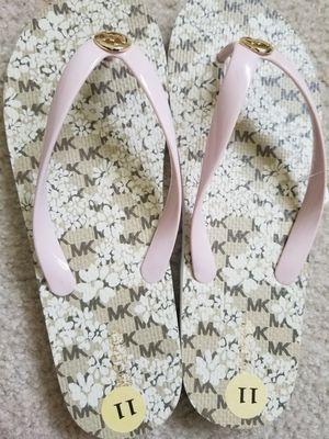Michael Kors Pink Fancy Women Flip Flop Size 11 New for Sale in Austin, TX