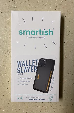 iPhone 11 Pro Wallet Case (Brand: Smartish) for Sale in Brandon, MS