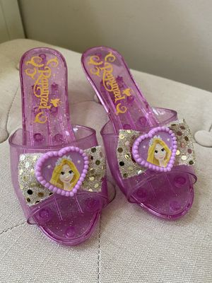 Rapunzel/Tangled kids dress up shoes for Sale in Arcadia, CA