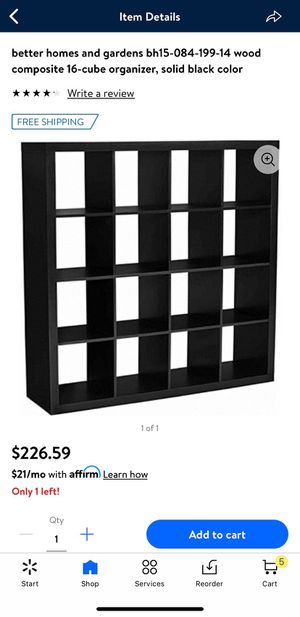 Better homes 16 cube organizer for Sale in Bakersfield, CA
